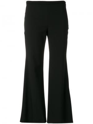 Укороченные брюки клеш Emilio Pucci. Цвет: чёрный