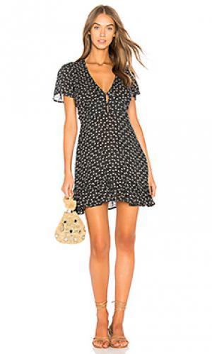 Свободное платье bella AUGUSTE. Цвет: черный