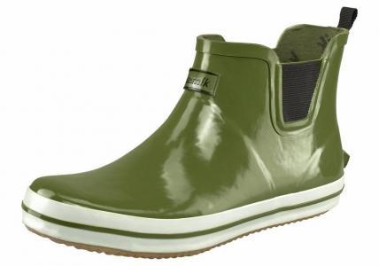 Резиновые сапоги Otto. Цвет: зеленый