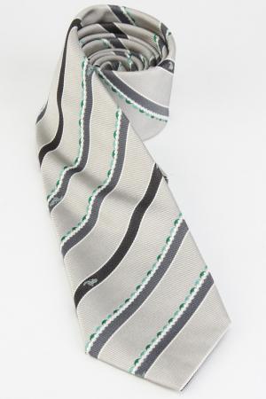 Галстук Emilio Pucci. Цвет: серый, зеленый
