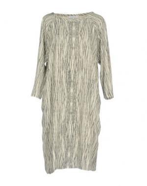 Короткое платье SECOND FEMALE. Цвет: слоновая кость