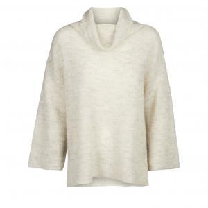 Пуловер Toulon с круглым вырезом AND LESS. Цвет: экрю