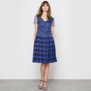 Платье вечернее MADEMOISELLE R. Цвет: синий морской,слоновая кость