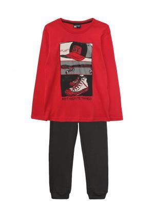 Пижама Losan. Цвет: красный