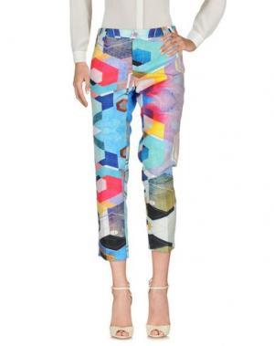 Повседневные брюки KITAGI®. Цвет: лазурный