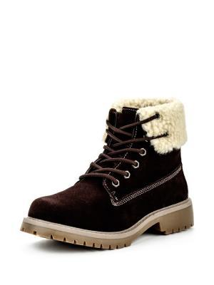 Ботинки Instreet. Цвет: коричневый