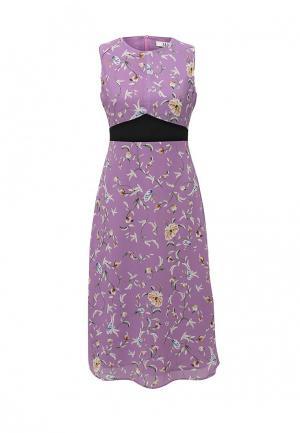 Платье MAST. Цвет: фиолетовый