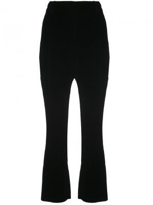 Cropped Flare Trouser Derek Lam 10 Crosby. Цвет: чёрный