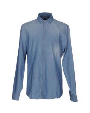 Джинсовая рубашка PATRIZIA PEPE. Цвет: синий