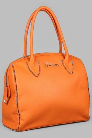 Сумка Maria Tomassini. Цвет: оранжевый