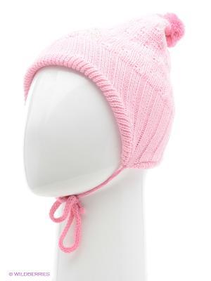 Шапка YO!. Цвет: розовый