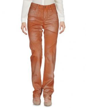 Повседневные брюки ANGELO MARANI. Цвет: коричневый