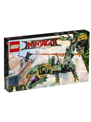 Ninjago Механический Дракон Зелёного Ниндзя 70612 LEGO. Цвет: синий