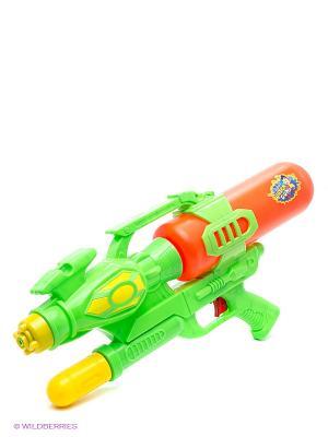 Водный пистолет с помпой Тилибом. Цвет: зеленый