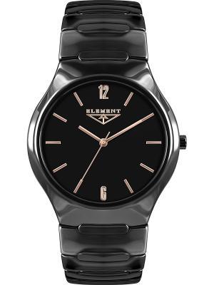 Часы 33 ELEMENT. Цвет: черный, золотистый, красный
