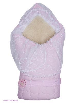Одеяло-конверт Зимушка Сонный гномик. Цвет: розовый