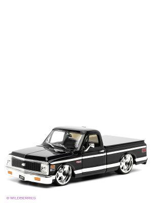 Модель автомобиля Chevy Cheyenne Pickup 1/24 Jada. Цвет: черный