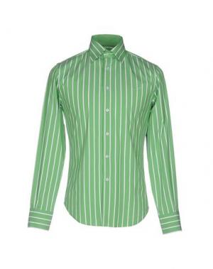 Pубашка 9.2 BY CARLO CHIONNA. Цвет: зеленый