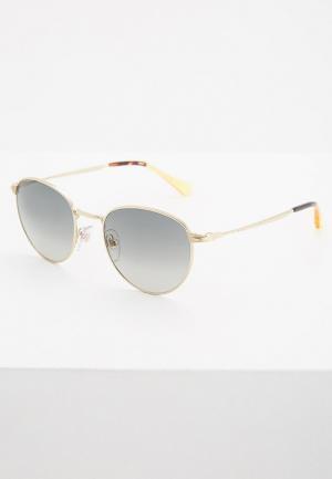 Очки солнцезащитные Persol. Цвет: золотой