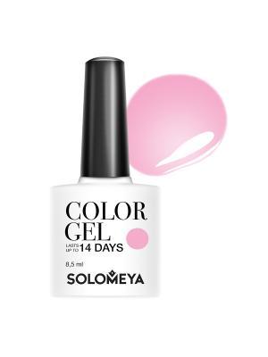 Гель-лак Color Gel Leticia SCGT009/Летиция SOLOMEYA. Цвет: розовый