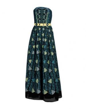 Длинное платье PETER PILOTTO. Цвет: небесно-голубой
