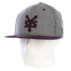 Бейсболка New Era  Randal Fitted NewEra Deep Purple Zoo York. Цвет: черный,фиолетовый