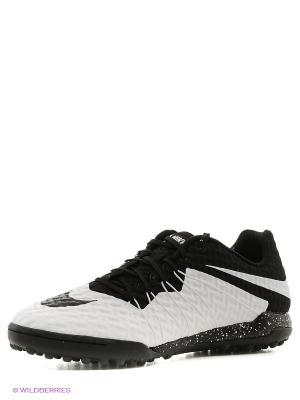 Шиповки HYPERVENOMX FINALE TF Nike. Цвет: белый