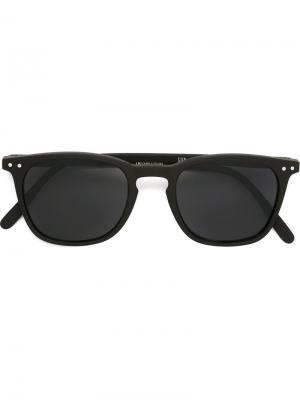Солнцезащитные очки See Concept. Цвет: чёрный