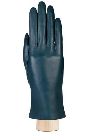 Перчатки Eleganzza. Цвет: сине-бирюзовый