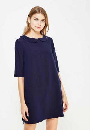 Платье 9fashion Woman. Цвет: синий