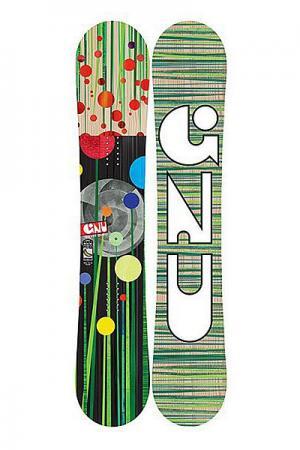 Сноуборд  Gnu Velvet Gnuru 150 Ec2 Ast. Цвет: мультиколор