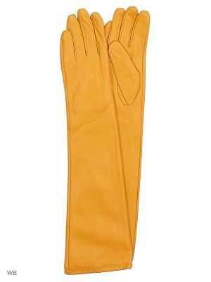 Перчатки Punta. Цвет: желтый