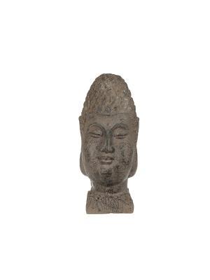 Голова Будды, керамика, 30х12 Home Visage. Цвет: коричневый