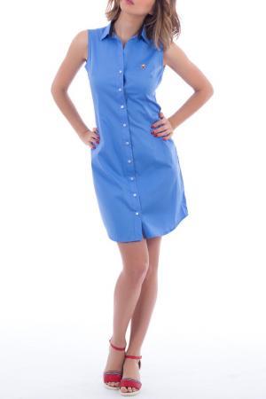Платье POLO CLUB С.H.A.. Цвет: синий