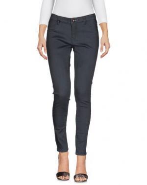 Джинсовые брюки DENHAM. Цвет: свинцово-серый