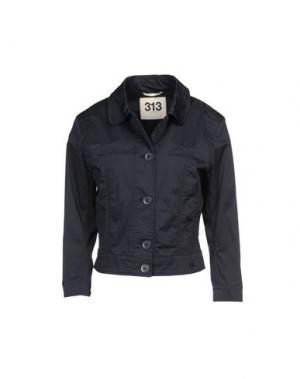Куртка 313 TRE UNO. Цвет: темно-синий