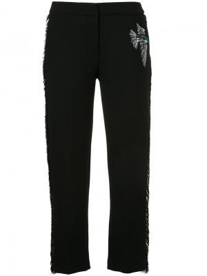 Укороченные классические брюки Markus Lupfer. Цвет: чёрный