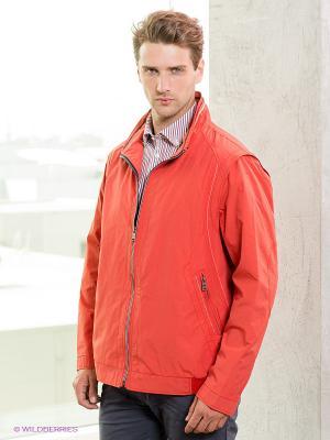 Куртка Jupiter. Цвет: красный