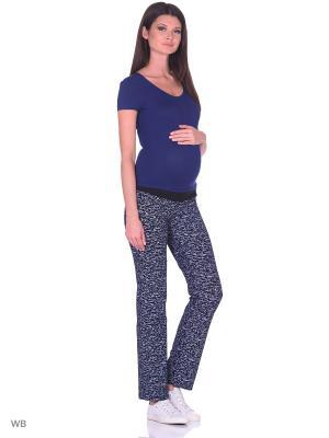 Брюки для беременных FEST. Цвет: черный, серый