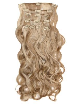Накладные волосы, пряди на заколках-клипсах Lana VIP-PARIK. Цвет: светло-коричневый, светло-бежевый, светло-желтый