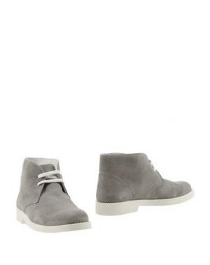 Полусапоги и высокие ботинки WALKER. Цвет: светло-серый