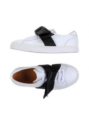 Низкие кеды и кроссовки MARC JACOBS. Цвет: белый