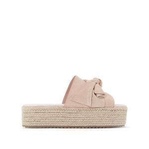 Туфли без задника кожаные, Winky COOLWAY. Цвет: розовый