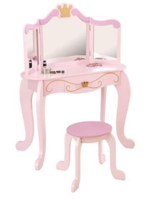 Туалетный столик Принцесса KidKraft. Цвет: розовый