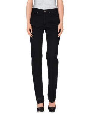 Повседневные брюки BETWOIN. Цвет: черный