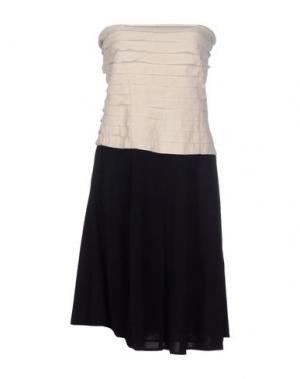 Короткое платье .TESSA. Цвет: слоновая кость