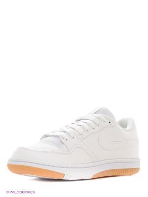 Кроссовки COURT FORCE LOW Nike. Цвет: белый, горчичный