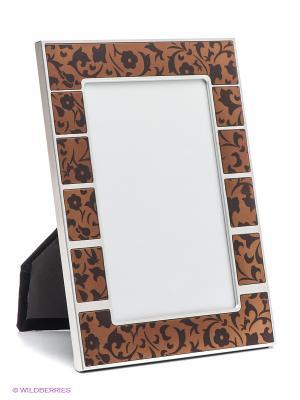 Фоторамка VELD-CO. Цвет: коричневый, серебристый