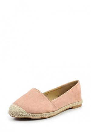 Эспадрильи Max Shoes. Цвет: розовый