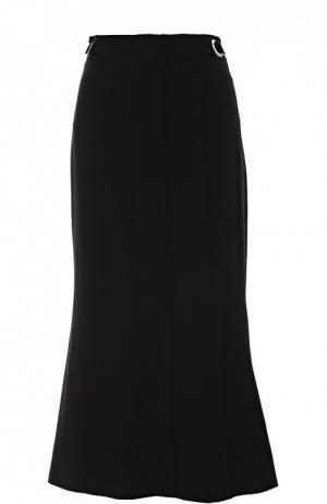 Расклешенная юбка-миди со складками Proenza Schouler. Цвет: черный